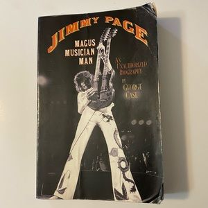 Jimmy Page Magus Musician Man by George Chase